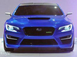 斯巴鲁全新翼豹 将基于WRX概念车打造