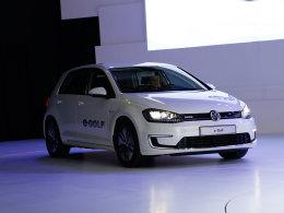 大众e-Golf纯电动车国内亮相 续航145km
