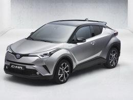 丰田C-HR官图发布 将于日内瓦车展亮相