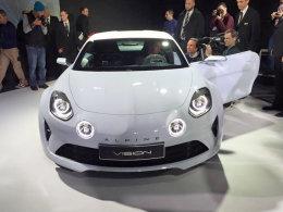 雷诺全新Alpine概念车发布  将年底量产