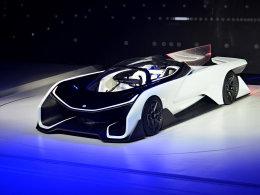 叫阵特斯拉 北京车展FFZERO1概念车静评