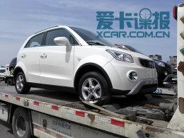 长江EV小型SUV抢先拍