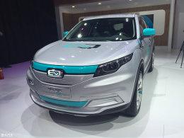 2016北京车展 观致5SUV电动版正式亮相