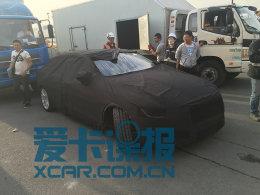 捷豹XFL车型抢先实拍