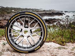 轮胎中的PRADA 测试倍耐力全新P Zero