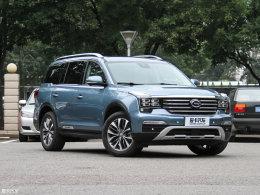 广汽传祺GS8预售价公布 16.98-25.98万