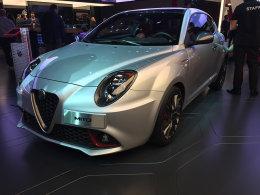 阿尔法罗密欧新款MiTo巴黎车展正式发布
