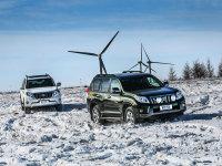普拉多踏遍雪原玩情怀