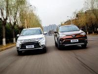 爱卡SUV专业测试 三菱欧蓝德VS丰田RAV4