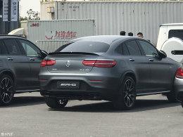 上海车展探馆:AMG GLC 43 Coupe亮相