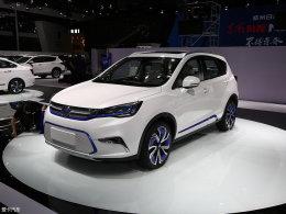 2017上海车展:东风风神AX5 EV正式首发