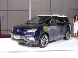 2017上海车展 双龙途凌柴油版正式上市