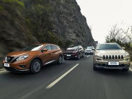 7款中型SUV对比 性能表现要用数据说话