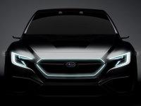 斯巴鲁新Viziv概念车将亮相 科技感十足