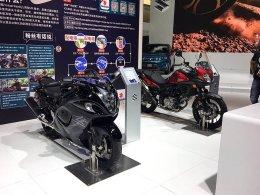2017广州车展:铃木展台摩托车抢先看