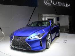 雷克萨斯LS/LC开启预售 预售价90万起