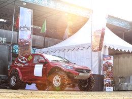 看编辑试驾2017越野三冠王—瑞虎7赛车