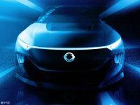 双龙e-SIV概念车预告图 日内瓦车展首发