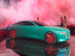 车展:红旗全新概念车