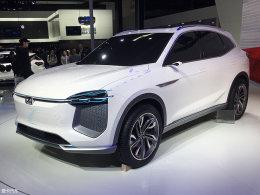 2018北京车展:众泰i-across概念车发布