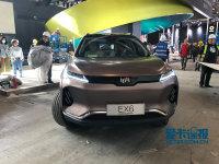 2018北京车展探馆:中型SUV威马EX6实拍