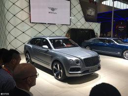 宾利添越V8汽油版上市