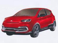 刺猬首款车专利图曝光 定位纯电动SUV