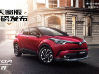 丰田奕泽IZOA新车型上市 售16.28万起
