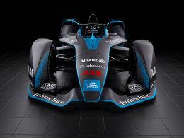 有史以来最酷的赛车 电动方程式新赛车