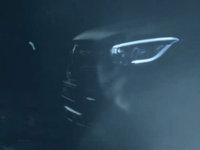 全新奔驰GLC Coupe预告图 纽约车展亮相