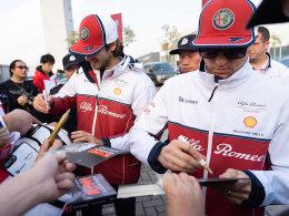 访阿尔法·罗密欧F1竞速车队车手莱科宁