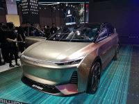 上海车展:爱驰U7 ION概念车正式亮相