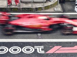 F1中国大奖赛第1000场比赛奔驰包揽冠亚
