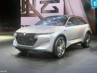 东风启辰The V概念车首发 造型科幻前卫