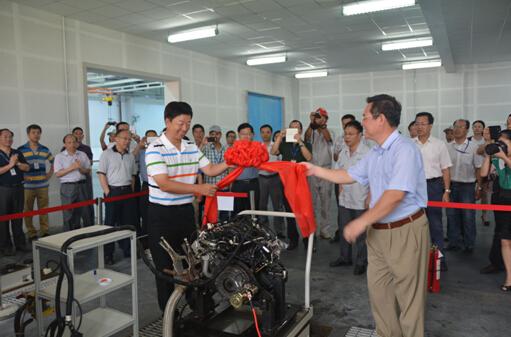 福汽新龙马自主研发小排量发动机下线